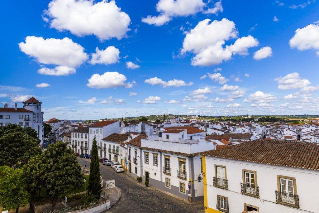 Passeios em Évora; Portugal
