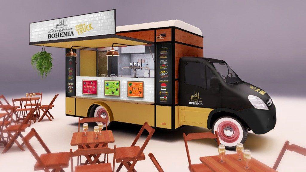 Food Truck; São Paulo; Bohemia