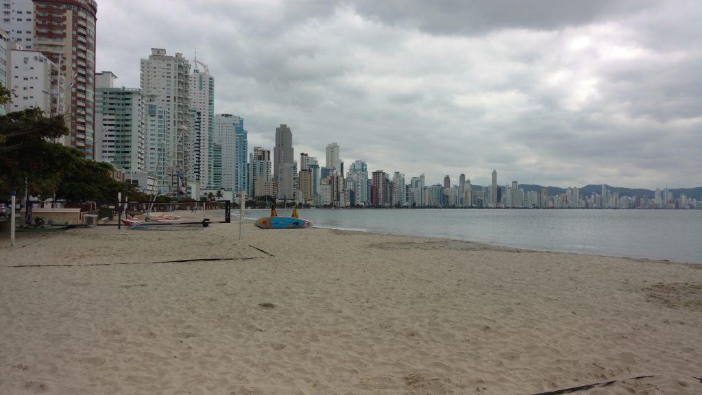 Praia em Balneário