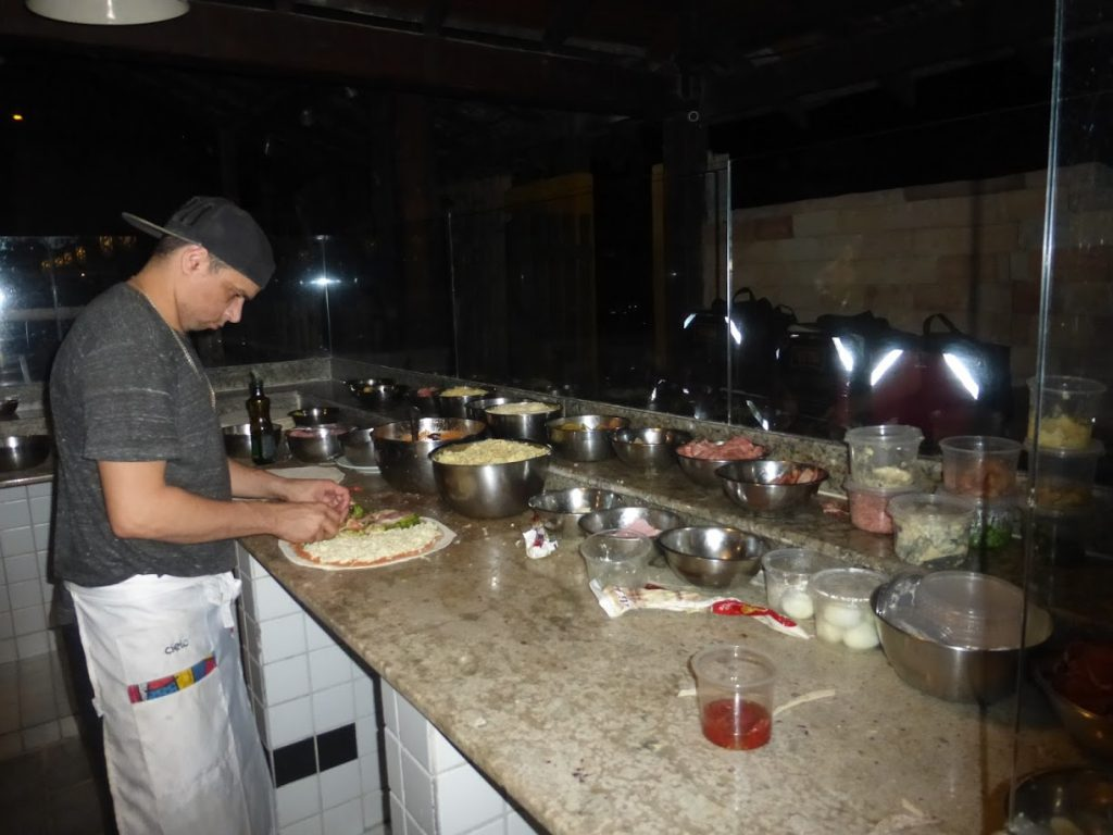 Pizzaria em Maresias