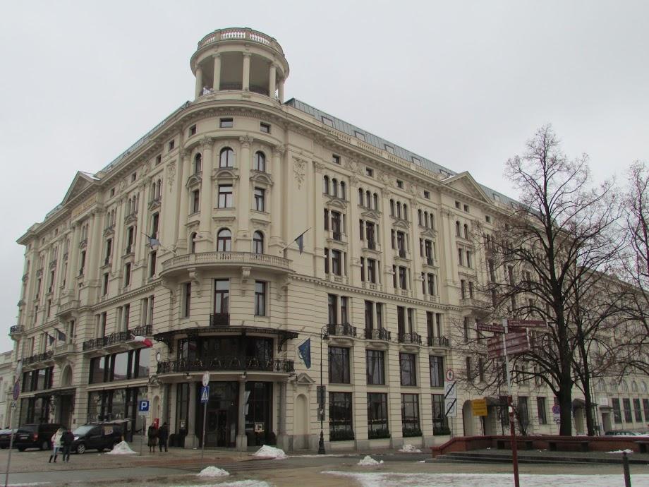 Hotel Bristol em Varsóvia