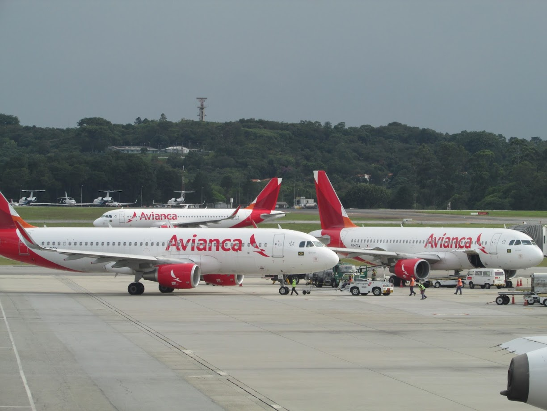 Resultado de imagen para Avianca Brasil Guarulhos