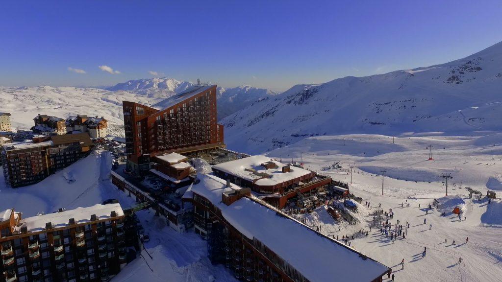 Temporada no Valle Nevado