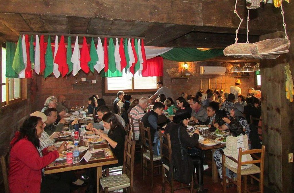 cantina italiana em Gramado