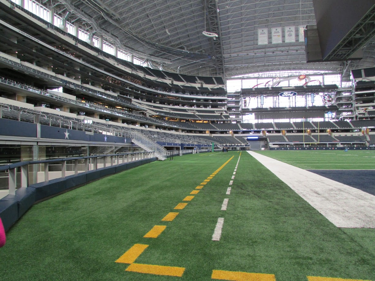 Mega est dio do dallas cowboys eua vale a visita for Dining options at at t stadium