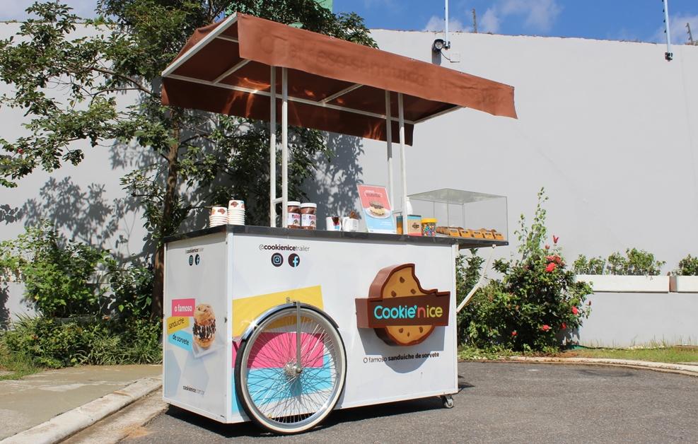 b8f137841e1e8 O carrinho de sorvete da Cookie  n Ice (fotos divulgação Shopping Cidade  Jardim )