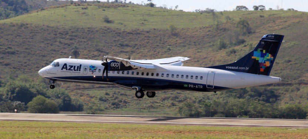 voo entre Lages e Campinas