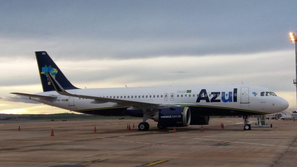 Azul voa para Belém