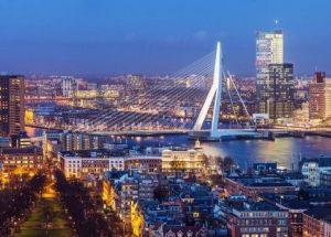 Hotel na Holanda