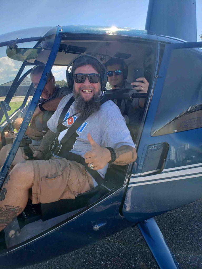 Conheça a Flórida em uma road trip - Helicoptero
