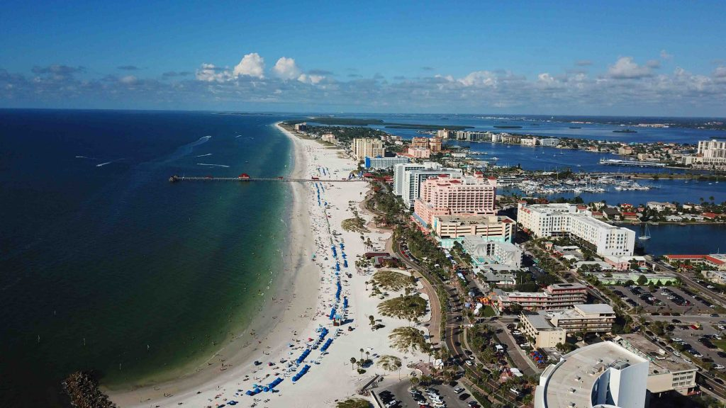 Conheça a Flórida em uma Road Trip - Praia de Clearwater