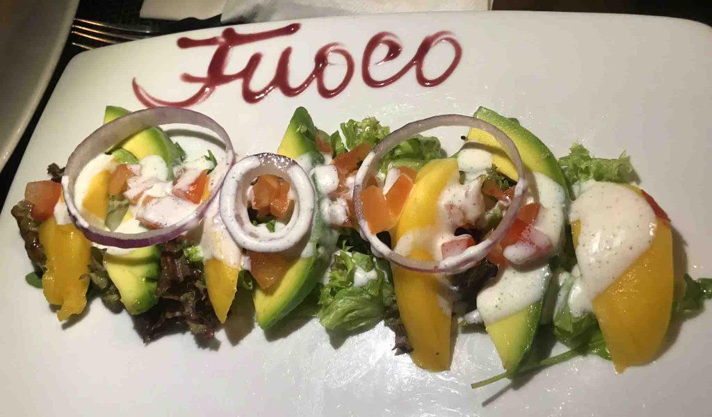 Onde comer em Curaçao - Restaurante Fuoco