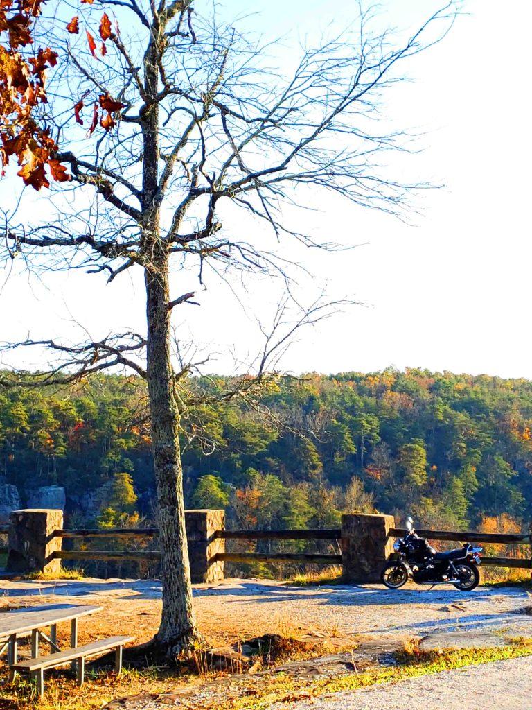 Viagem de moto pelo Alabama
