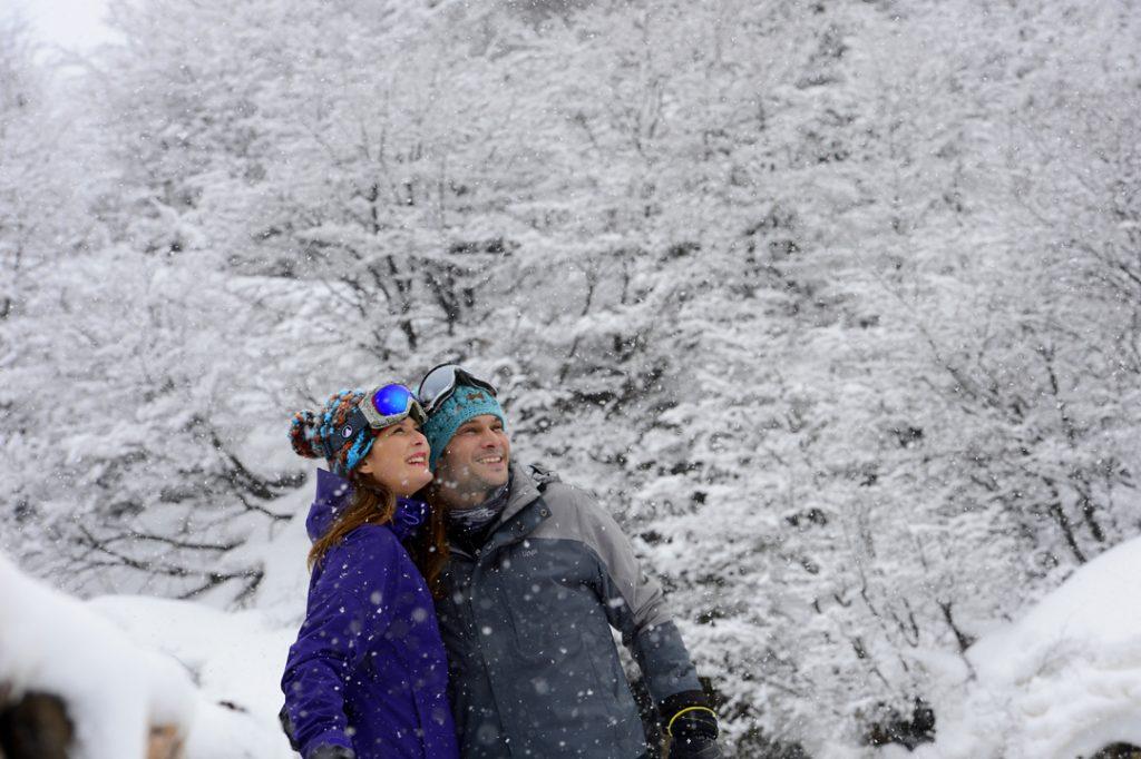 Nevados de Chillán; esqui; neve