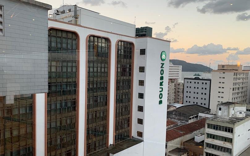 Bourbon Santos Hotel; hotel em Santos