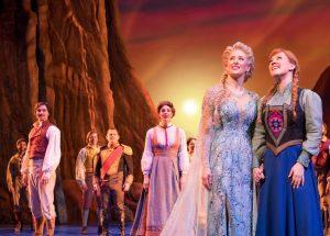 Nova York; Frozen na Broadway