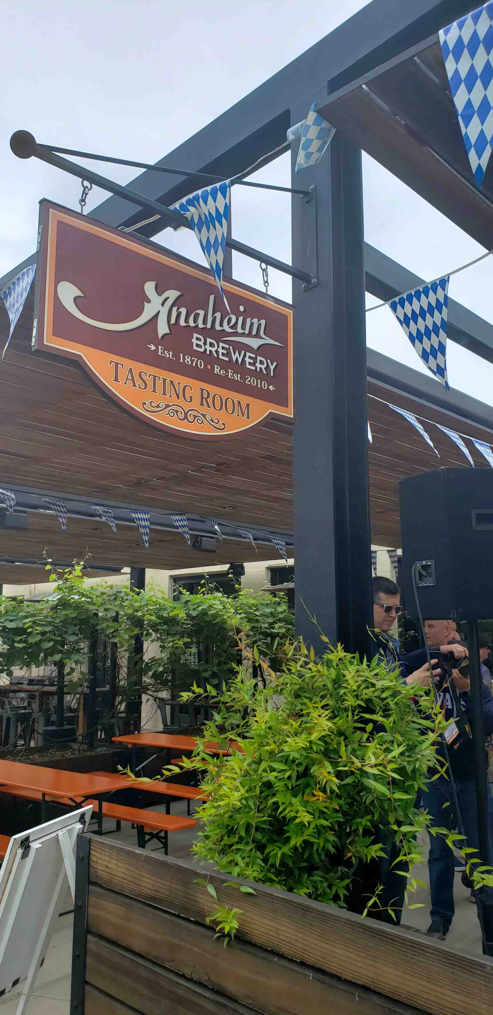 Fachada da Anaheim Brewery